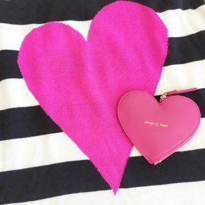 Kate Spade Heart Coin Purse Pink Wristlet